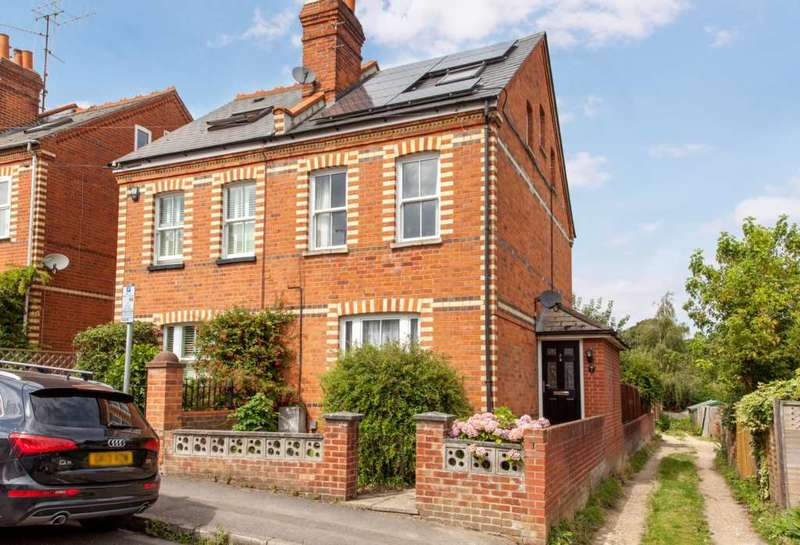 4 Bedrooms Semi Detached House for sale in Hemdean Hill, Caversham Heights