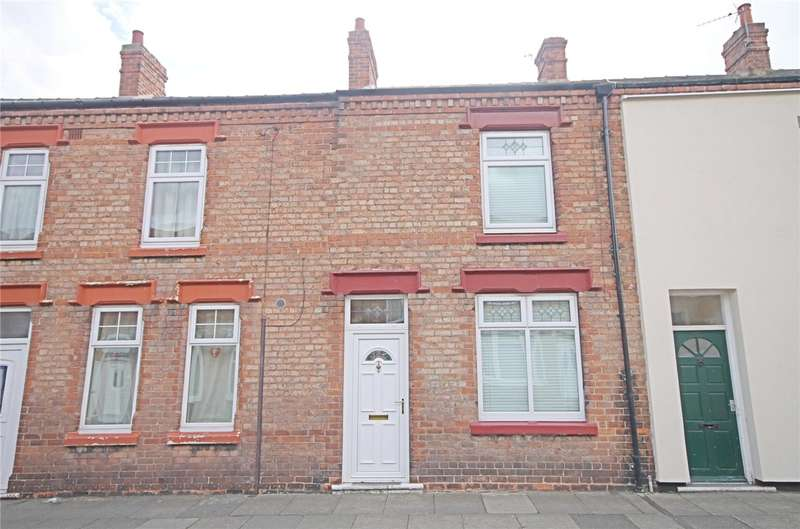 2 Bedrooms Terraced House for sale in Falmer Road, Darlington, County Durham, DL1