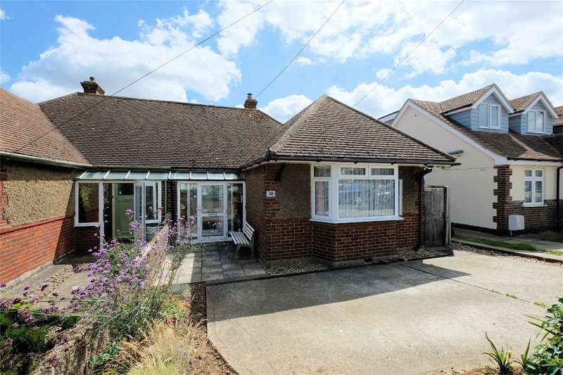 2 Bedrooms Semi Detached Bungalow for sale in Kemp Road, Tankerton, WHITSTABLE, Kent