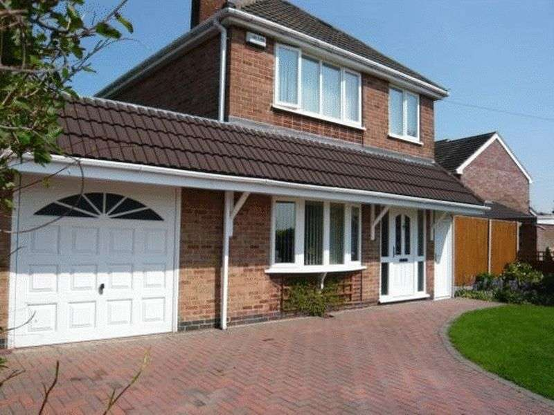 3 Bedrooms Detached House for sale in Fenton Crescent, Swadlincote