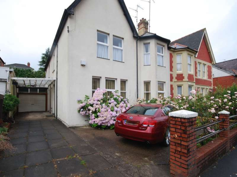 4 Bedrooms Semi Detached House for sale in Bryngwyn Road, Newport, South Wales. NP20 4JS