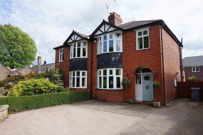 3 Bedrooms Semi Detached House for sale in Leek Road, Congleton