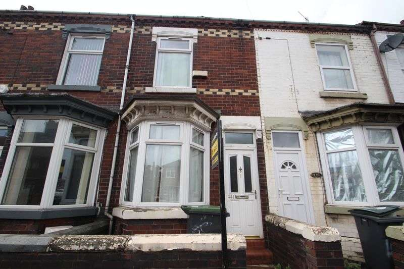 2 Bedrooms Terraced House for sale in Victoria Road, Hanley, Stoke-On-Trent