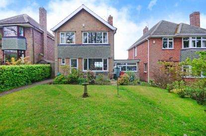 3 Bedrooms Detached House for sale in Longedge Lane, Wingerworth, Chesterfield, Derbyshire