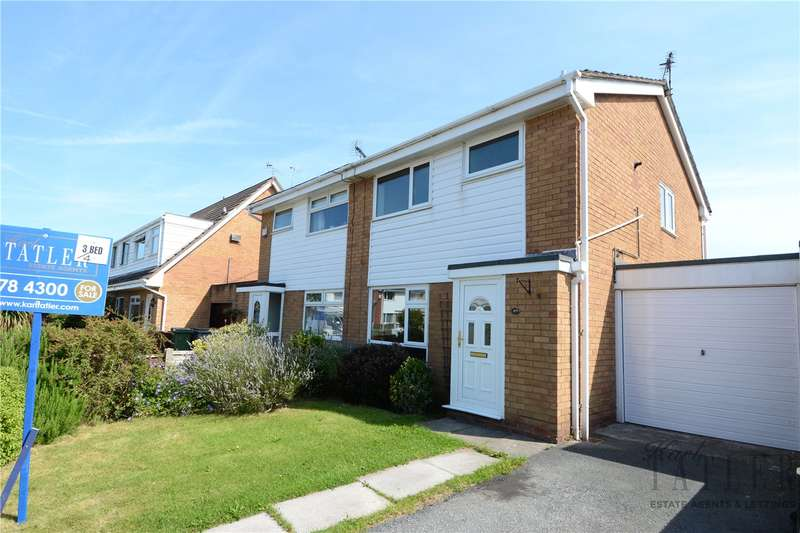 4 Bedrooms Semi Detached House for sale in Rake Hey Close, Moreton, Wirral