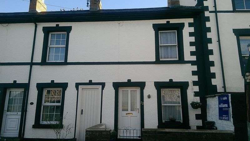 2 Bedrooms Terraced House for sale in Love Lane, Denbigh