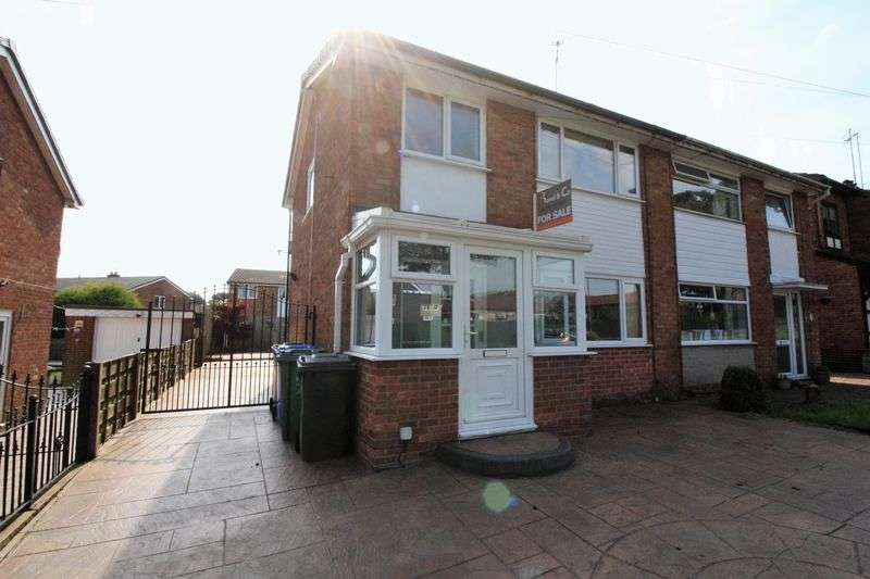 3 Bedrooms Semi Detached House for sale in Nuttall Lane, Bury