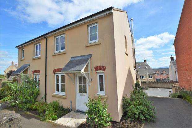 3 Bedrooms Semi Detached House for sale in Elms Meadow, Winkleigh, Devon