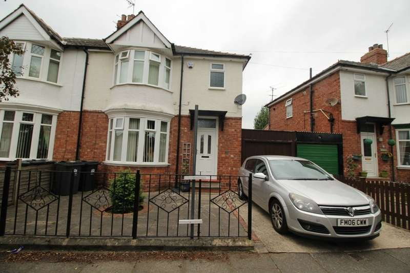 3 Bedrooms Semi Detached House for sale in Brinkburn Drive, Darlington, DL3