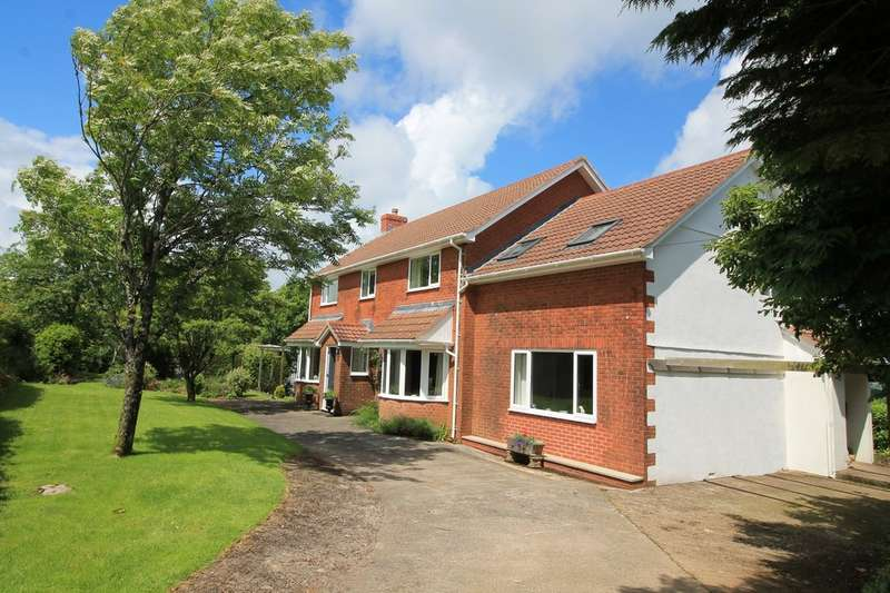 5 Bedrooms Detached House for sale in Moreleigh, Totnes
