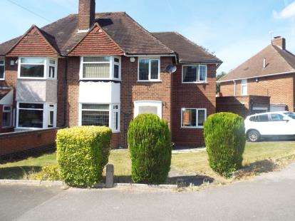 4 Bedrooms Semi Detached House for sale in Onslow Crescent, Solihull, West Midlands