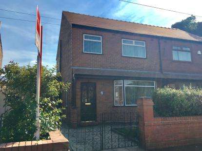 3 Bedrooms Semi Detached House for sale in Alamein Crescent, Warrington, Cheshire