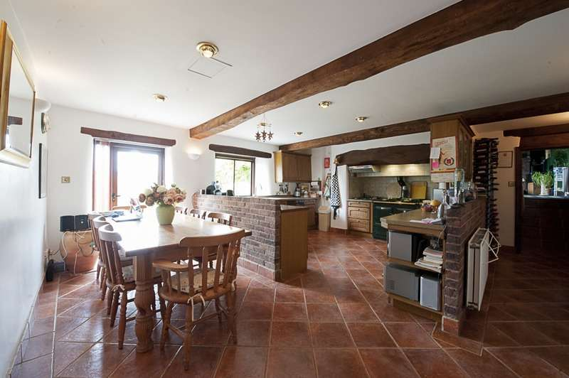 4 Bedrooms Detached House for sale in Brompton Ralph, Wiveliscombe, Taunton, Somerset, TA4