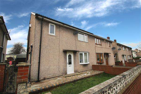 3 Bedrooms Semi Detached House for sale in Church Drive, South Kirkby