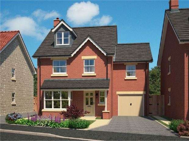 5 Bedrooms Detached House for sale in The Hatherley Plot 10, Churchill Gardens, Broad Lane, Yate, BRISTOL, BS37 7LA