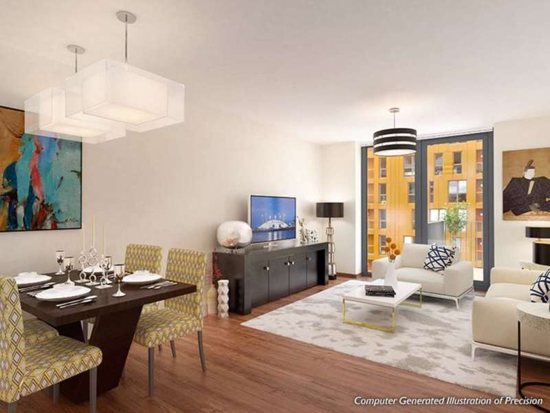 2 Bedrooms Apartment Flat for sale in Henley Block, Precision Greenwich, SE10