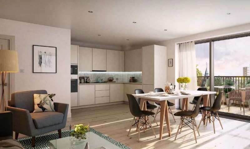 2 Bedrooms Flat for sale in The Cambium, Princes Way, Southfields, SW19