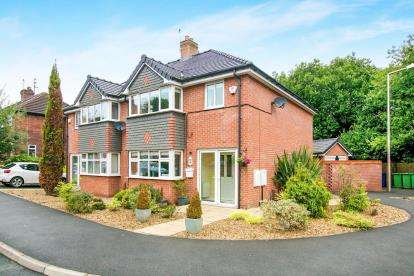 3 Bedrooms Semi Detached House for sale in Vaudrey Drive, Hazel Grove, Stockport, Cheshire