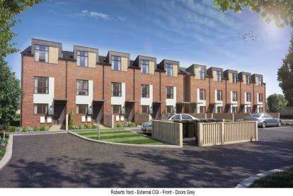 3 Bedrooms Terraced House for sale in Roberts Yard, High Road, Beeston