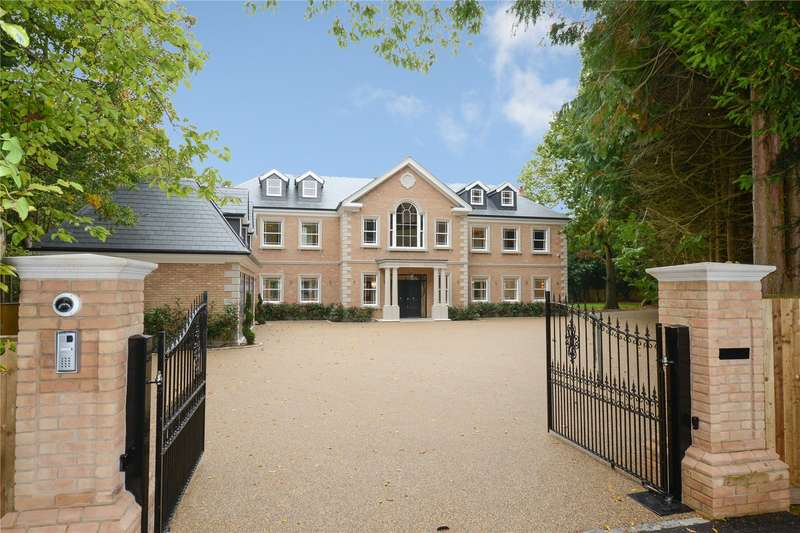 7 Bedrooms Detached House for sale in Onslow Road, Burwood Park, Walton-on-Thames, Surrey, KT12