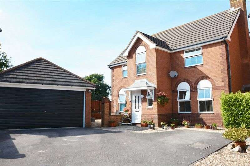 4 Bedrooms Detached House for sale in Meadowlands, Weston-Super-Mare