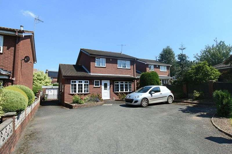 3 Bedrooms Detached House for sale in Newport Road, Eccleshall, Stafford