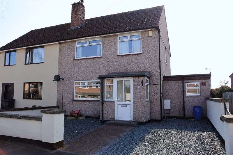 3 Bedrooms Semi Detached House for sale in Brisco Road, Carlisle