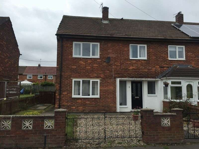 3 Bedrooms Semi Detached House for sale in Grasmere Road, Hebburn