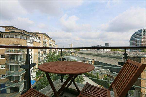 2 Bedrooms Apartment Flat for sale in Omega Building, Riverside West, Smugglers Way, London