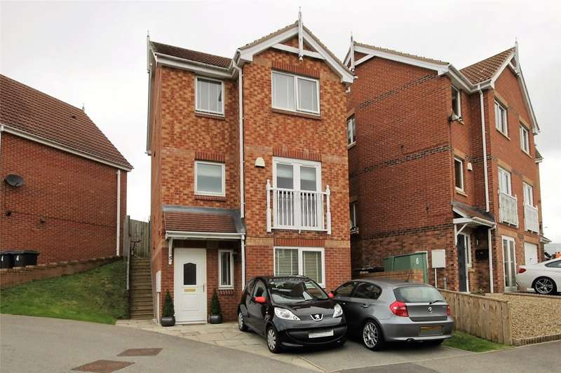 3 Bedrooms Detached House for sale in The Chequers, Consett, Durham, DH8