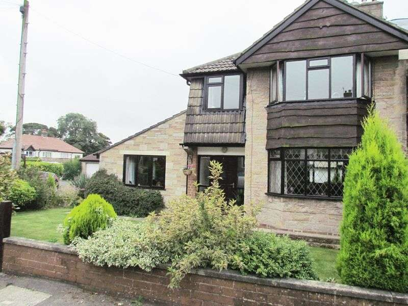 3 Bedrooms Semi Detached House for sale in Sherwood Close, Eldwick, Bingley