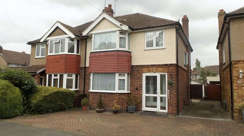 3 Bedrooms Semi Detached House for sale in Dudley Avenue, Cheshunt
