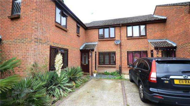 2 Bedrooms Terraced House for sale in Westcombe Close, Bracknell, Berkshire
