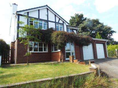 4 Bedrooms Detached House for sale in Rhewl, Holywell, Flintshire, CH8