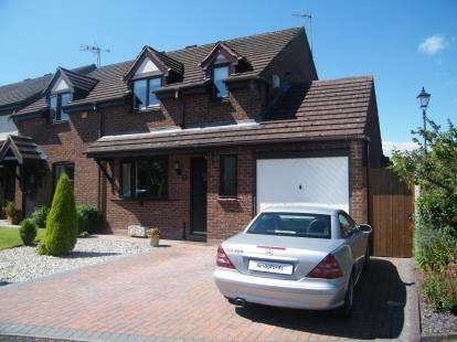 3 Bedrooms Semi Detached House for sale in Pellfield Court, Weston, Stafford, Staffordshire