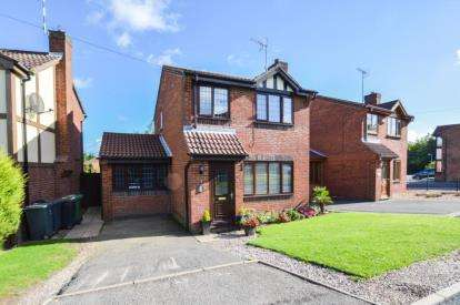 3 Bedrooms Detached House for sale in Orford Rise, Galley Common, Nuneaton, Warwickshire
