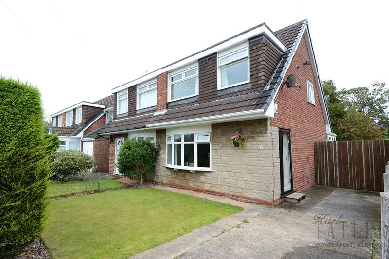 3 Bedrooms Semi Detached House for sale in Jasmine Close, Upton, Wirral