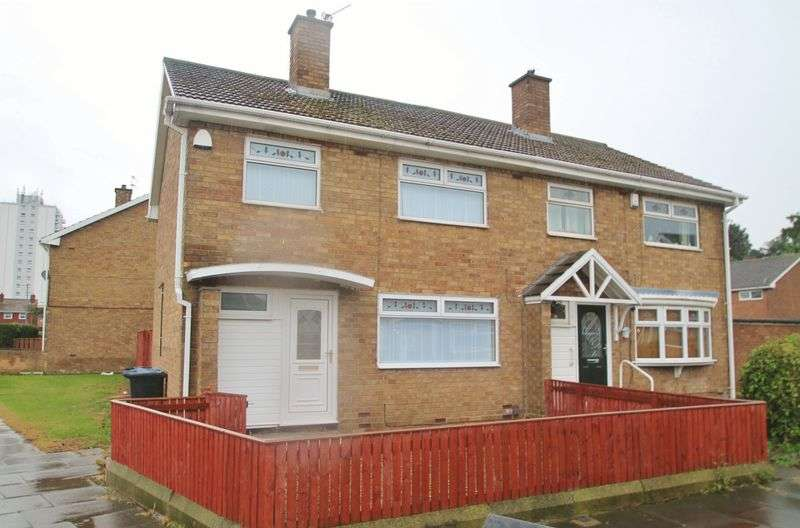 3 Bedrooms Semi Detached House for sale in Blanchland Road, Priestfields