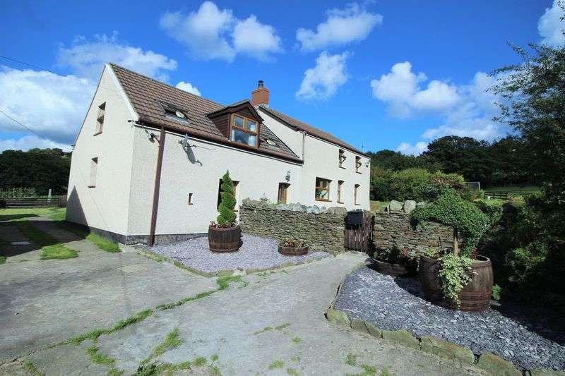 5 Bedrooms Detached House for sale in Ty'r Waen Farm, Mynyddislwyn, Newport, Caerphilly