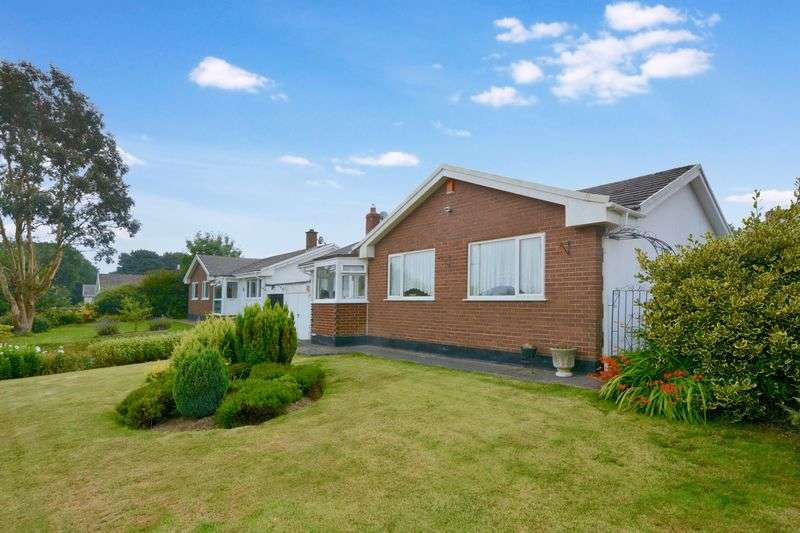 3 Bedrooms Detached Bungalow for sale in Shepherds Meadow, Beaford, Winkleigh, EX19 8NF