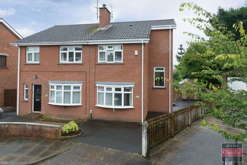 2 Bedrooms Semi Detached House for sale in 64 Vauxhall Park, Belfast, BT9 5HB