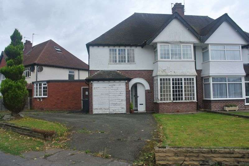 4 Bedrooms Semi Detached House for sale in Robin Hood Lane, Hall Green B28