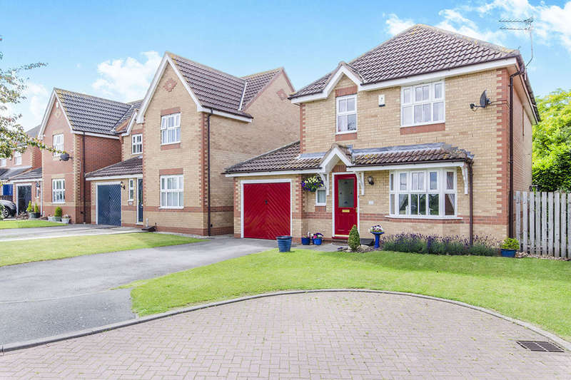 4 Bedrooms Detached House for sale in Wollaton Rise, Retford, DN22