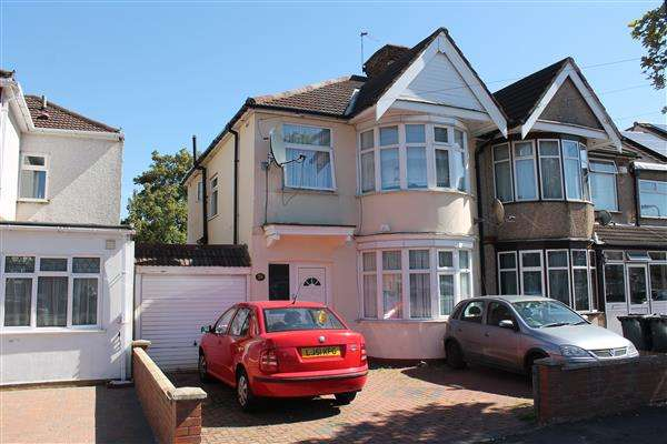 3 Bedrooms Semi Detached House for sale in Kingshill Avenue, Harrow