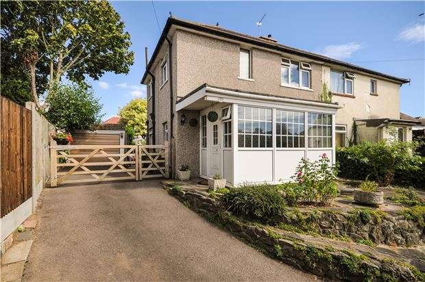 3 Bedrooms Semi Detached House for sale in Chelsfield Lane, ORPINGTON, Kent, BR5 4HG