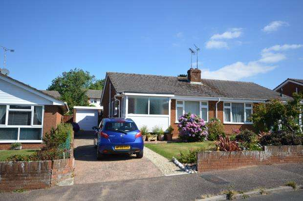 2 Bedrooms Semi Detached Bungalow for sale in Chrystel Close, Tipton St. John, Sidmouth, Devon