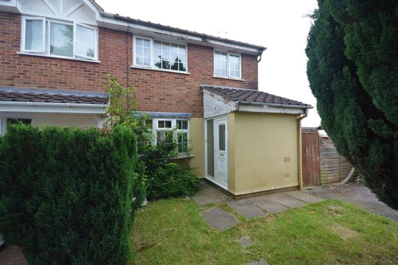3 Bedrooms Semi Detached House for sale in Sandown Drive, Perton, Wolverhampton, WV6