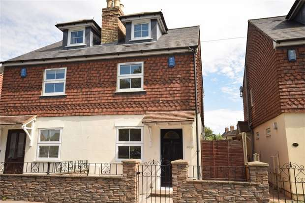 3 Bedrooms Semi Detached House for sale in 90 London Road, Dunton Green, Sevenoaks, Kent