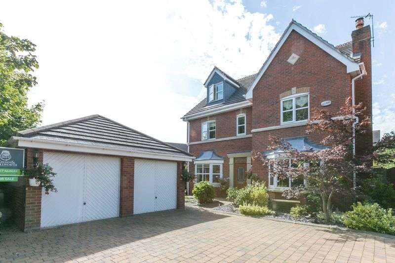 5 Bedrooms Detached House for sale in Clough Avenue, Burscough, L40 5BG