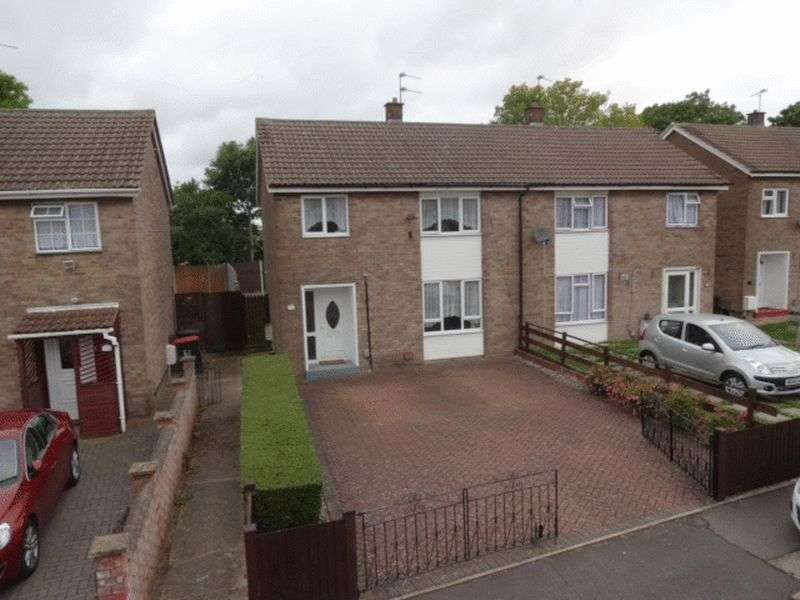 3 Bedrooms Semi Detached House for sale in Leaf Road, Dunstable